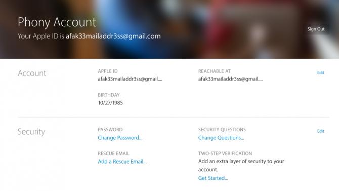 إنشاء حساب apple id