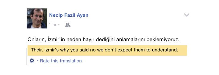 Facebook's translations