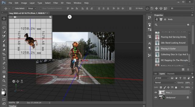 Adobe upgrades- Photoshop- Fuse CC 3D
