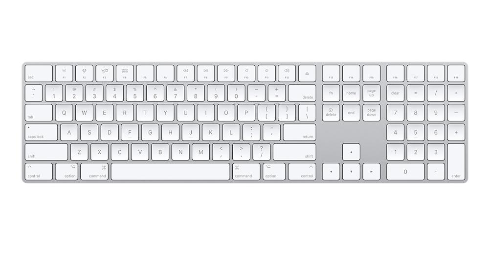 Apple's $130 Magic Keyboard adds a numeric keypad