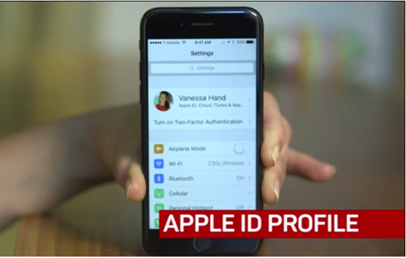 Apple ID Profile