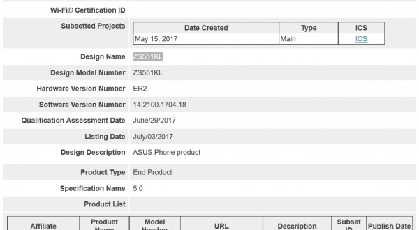 Asus smartphone certified for Bluetooth 5.0