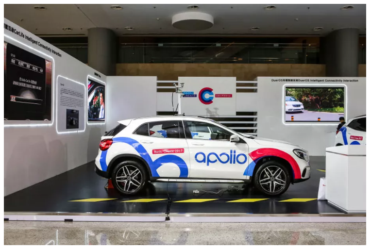 Baidu partners with Ford, Nvidia, and others
