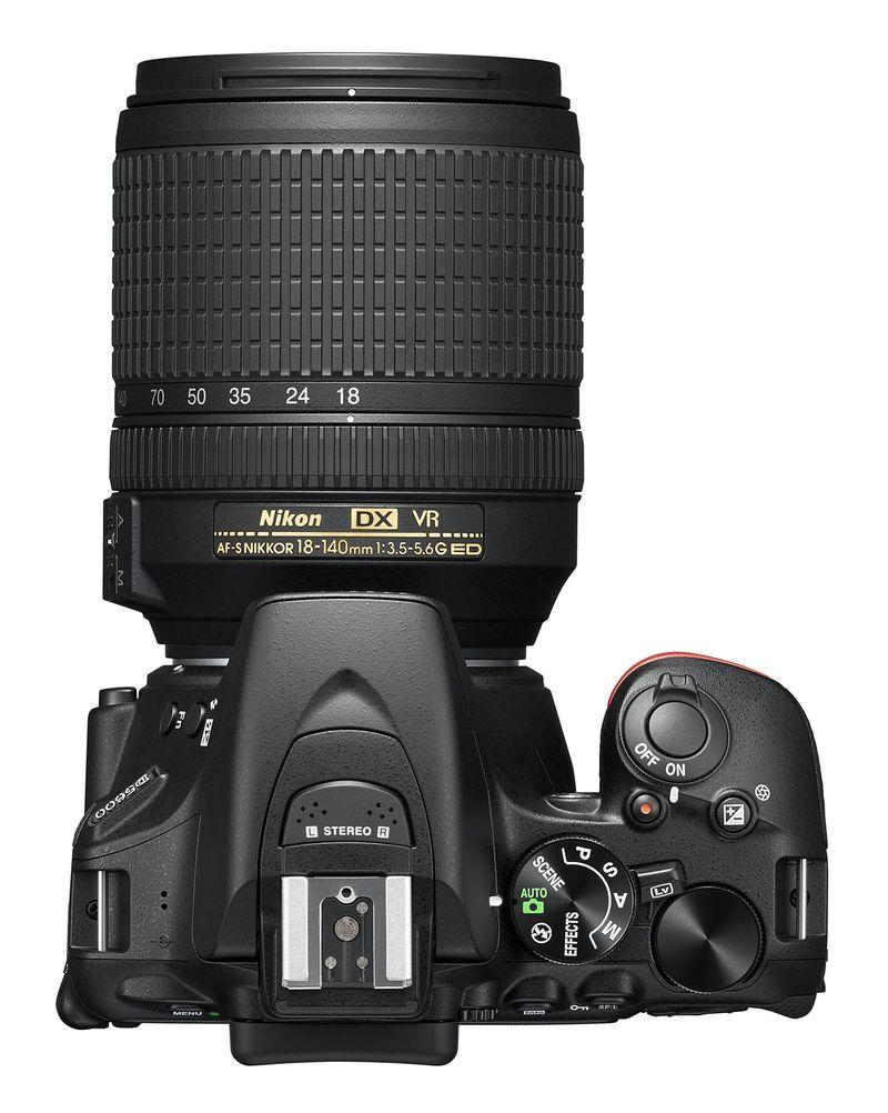 D5600 DSLR-top