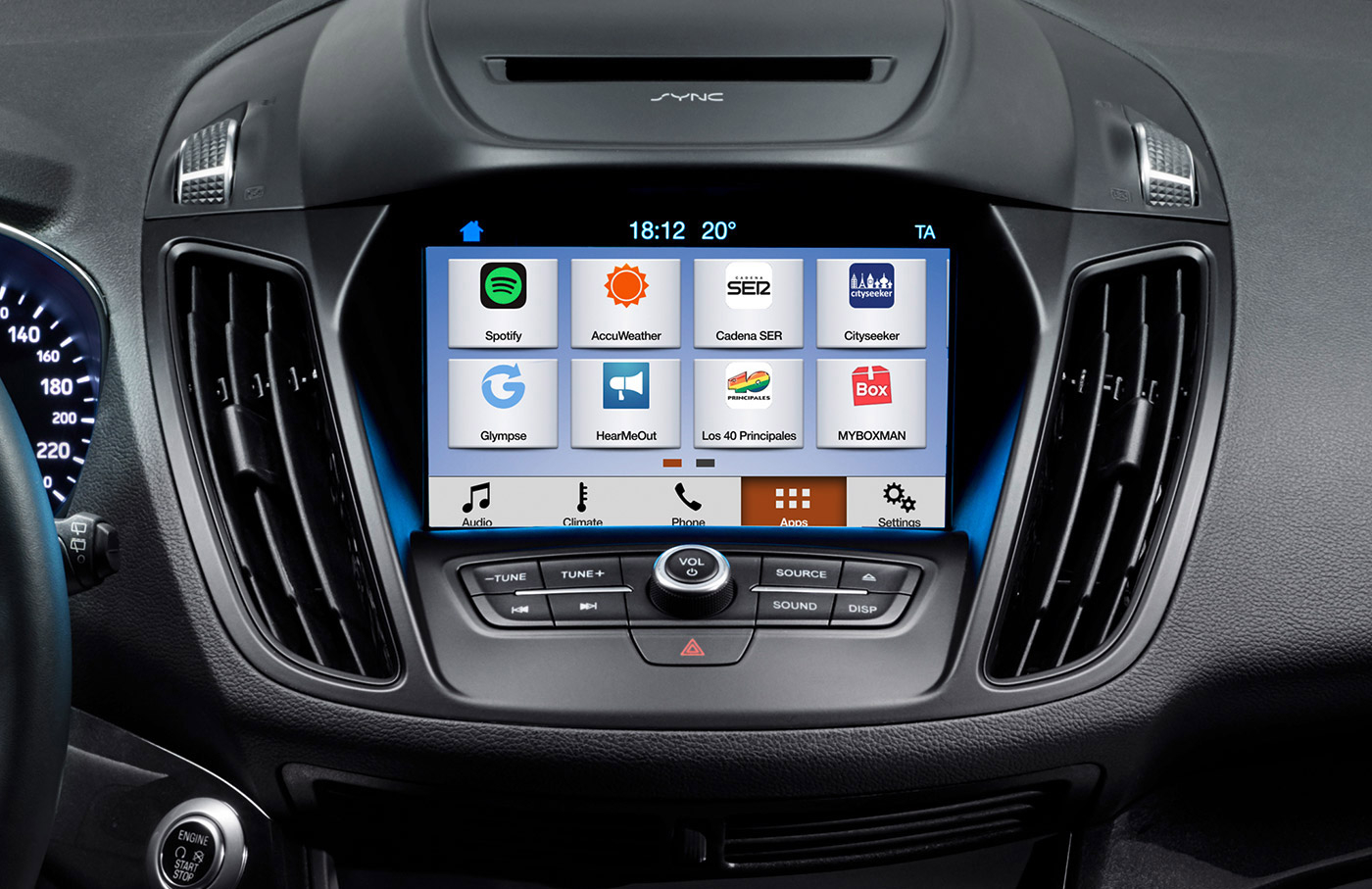 Ford - CarPlay - Android Auto