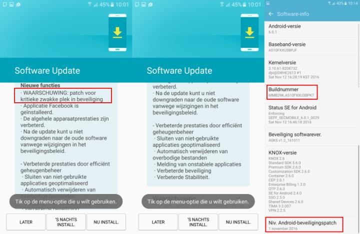 سامسونج تطلق تحديث جديد لهاتف Galaxy A5 2016