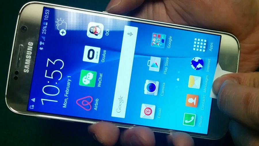 Galaxy S6 hack