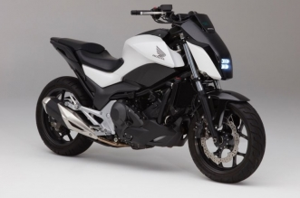 Honda's self-balancing motorcycle