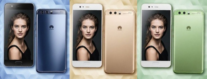 Huawei P10-colors
