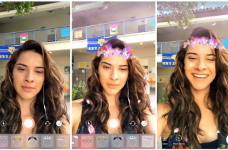 Instagram copies face filters from Snapchat