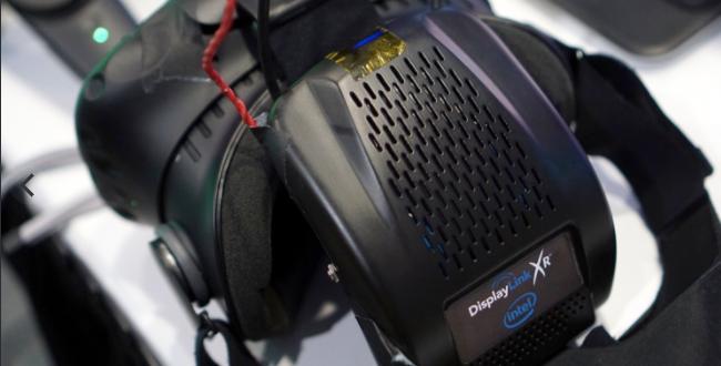 Intel Wireless VR for HTC Vive