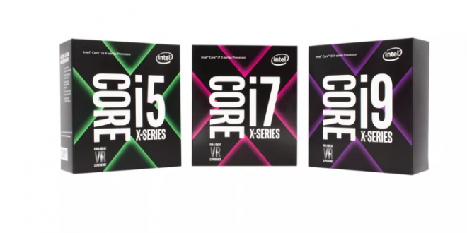Intel announces Core X line of high-end processors