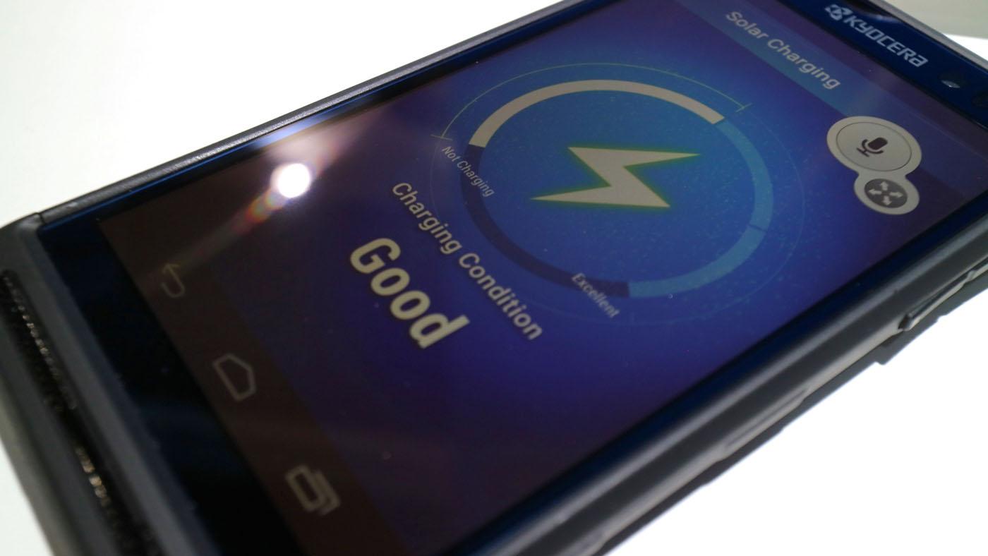 Kyocera -solar-smartphone