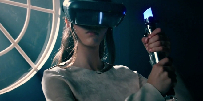 Lenovo made an augmented reality headset for 'Star Wars' games