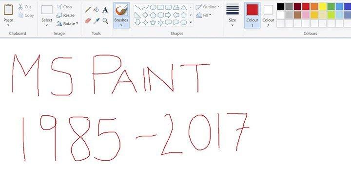 برنامج MS Paint لن يكون موجود في تحديث ويندوز 10 القادم