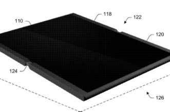 Microsoft patents- 2-in-1 foldable mobile