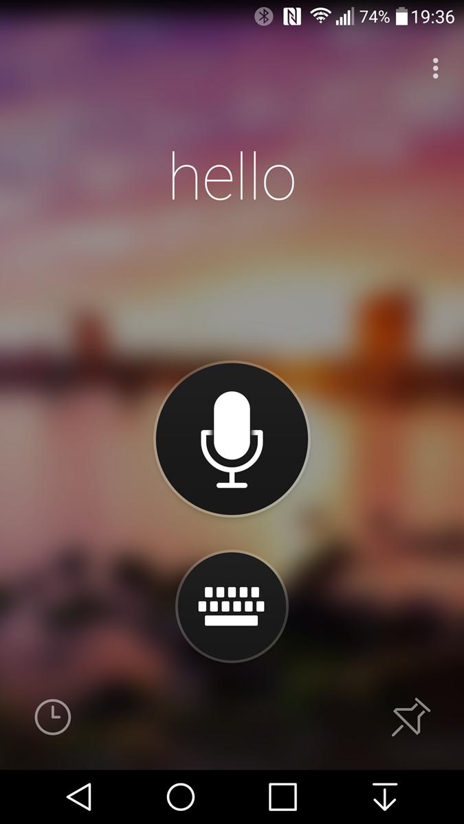Microsoft-update-Translator app