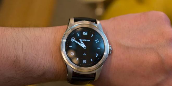 Montblanc's first smartwatch