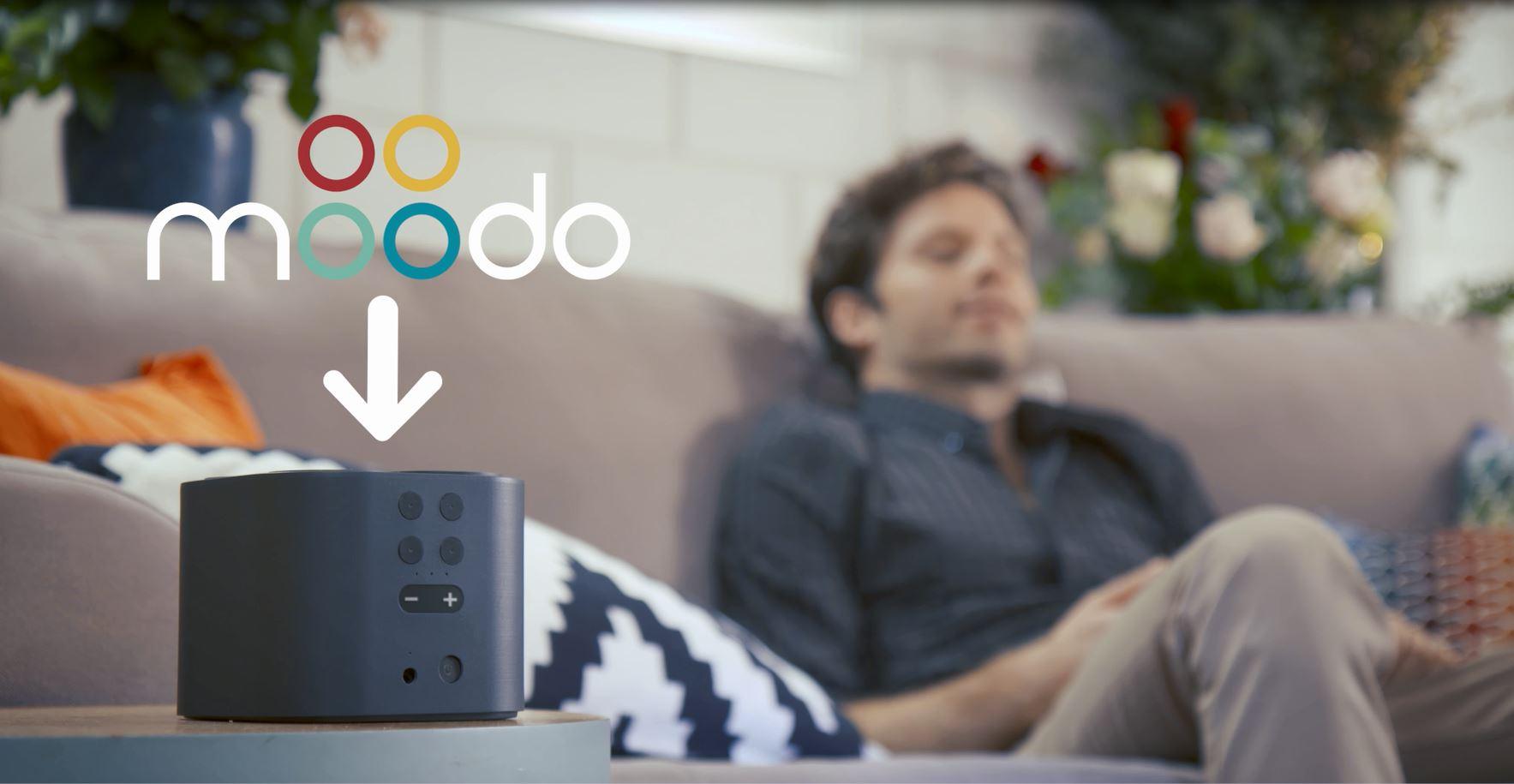 Moodo معطر هواء ذكي يتيح إختيار العطر المفضل عن طريق الهاتف