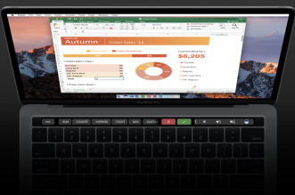 Office - Mac now - MacBook Pro -Touch Bar