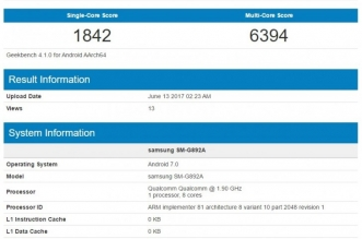 Samsung Galaxy S8 Active appears on Geekbench