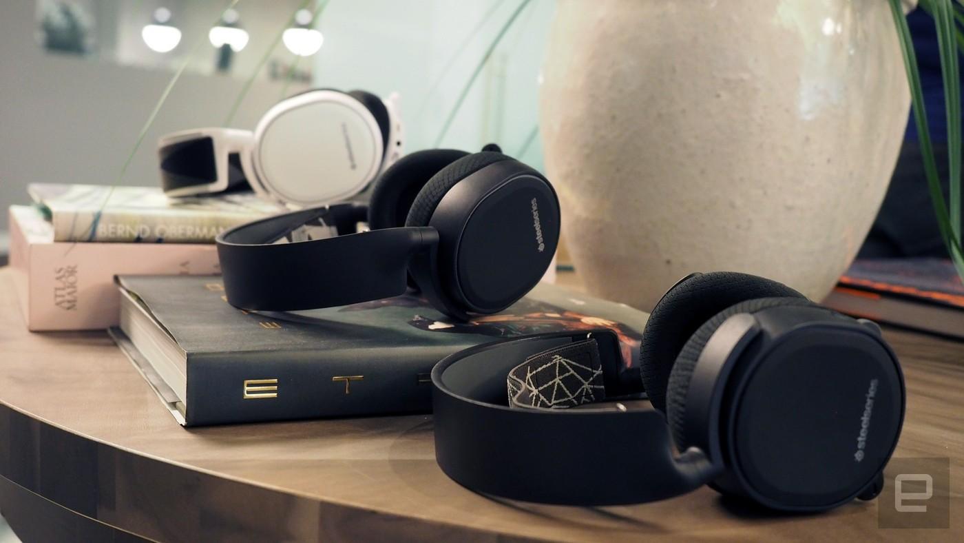 SteelSeries gaming headphone