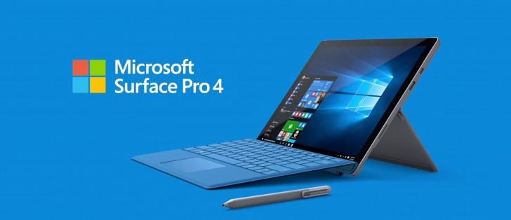 مايكروسوفت تطلق تحديث جديد لأجهزة Surface Pro 4