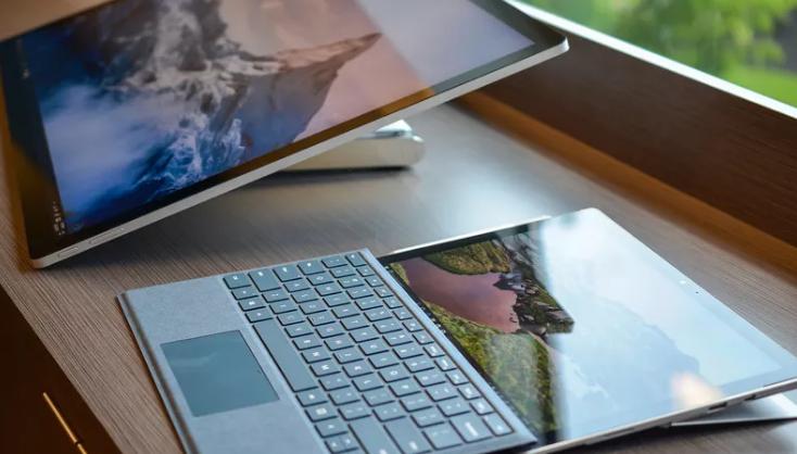 Surface Pro's new hinge