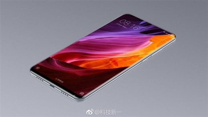 تسريبات تظهر النسخة التجريبية من هاتف Xiaomi Mi Mix 2 بشاشة كاملة