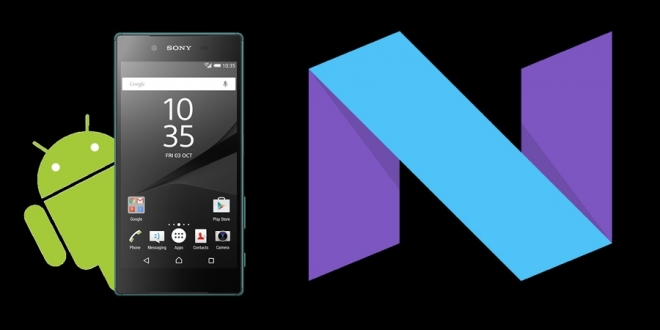 Xperia-Android-Nougat