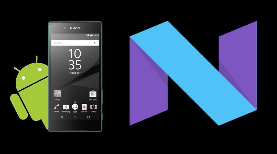سوني تعيد إطلاق الأندوريد Nougat لهاتف Xperia Z3+ وZ5 وجهاز Z4