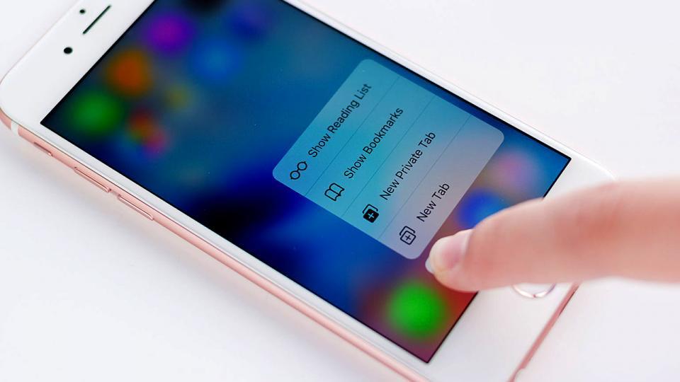 apple-3D Touch