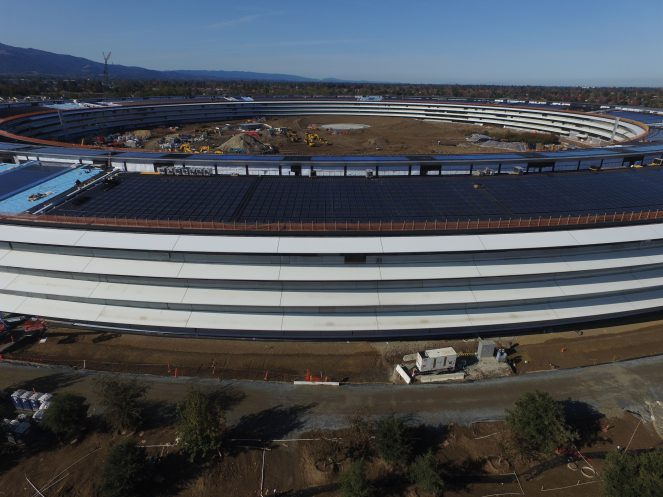 apple campus 2 side