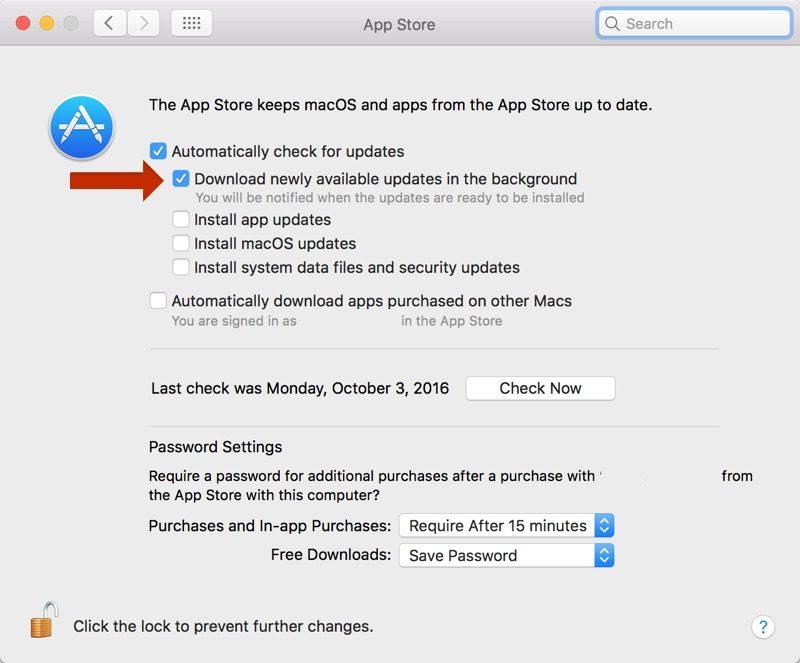 automatic update ssierra