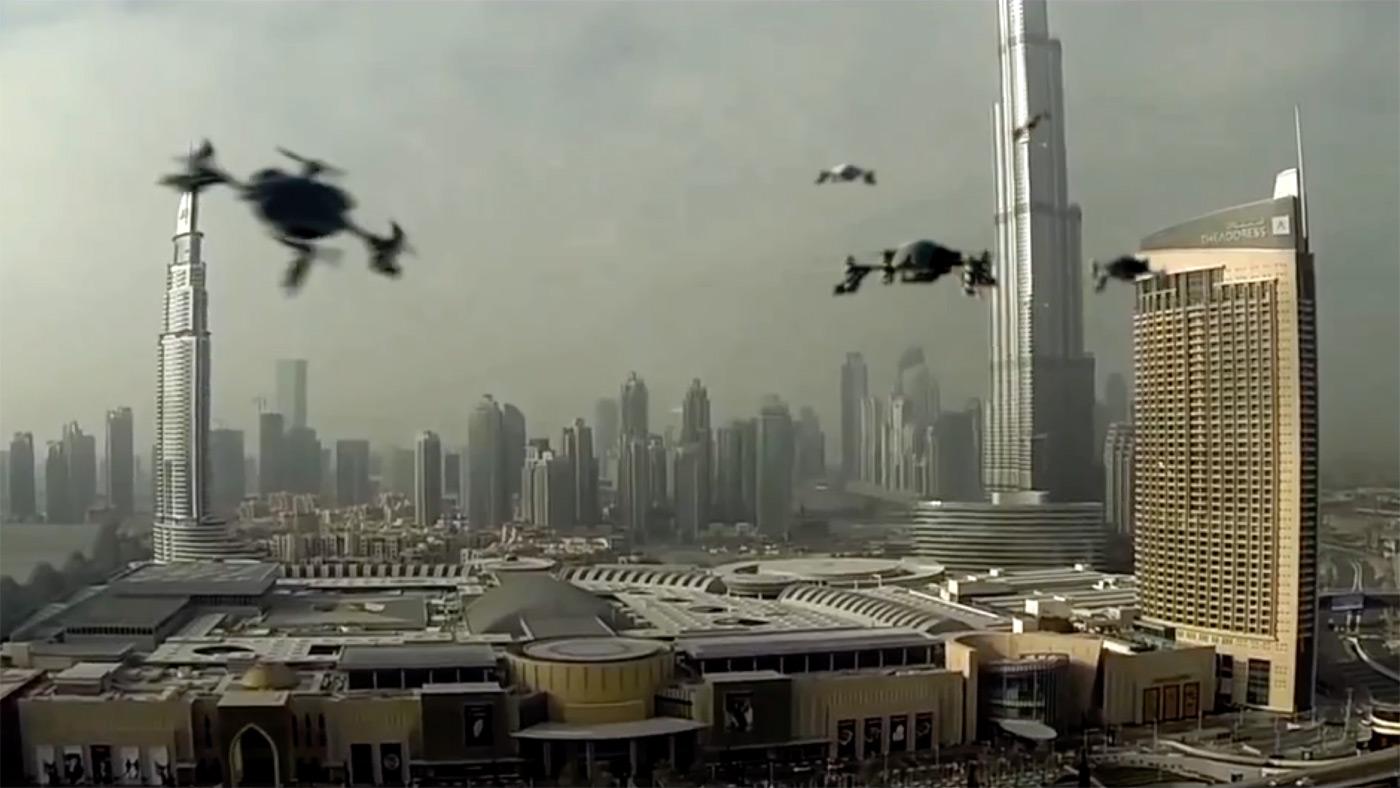 dubai world drone prix