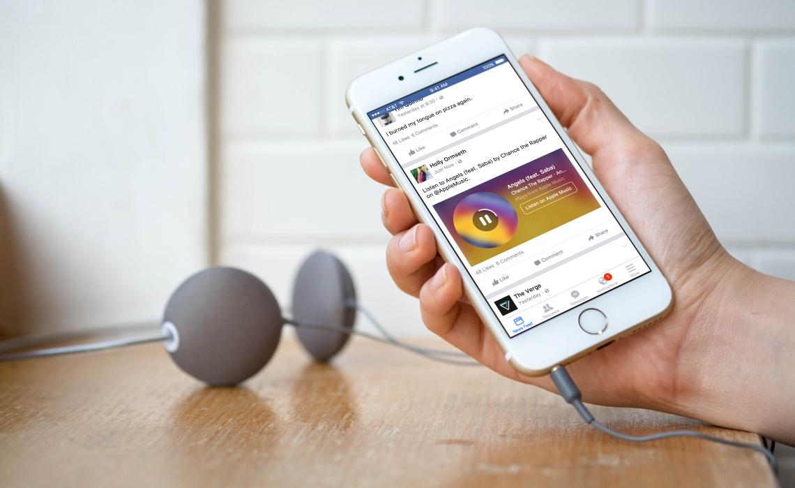 الفيس بوك يدعم تشغيل الصوتيات في الفيديو بشكل تلقائي