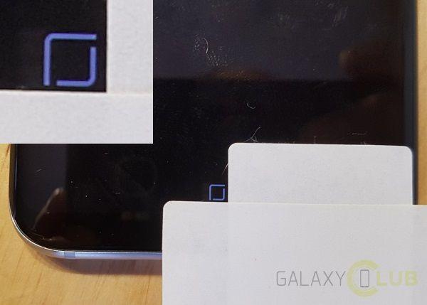 galaxy S8 home button jump