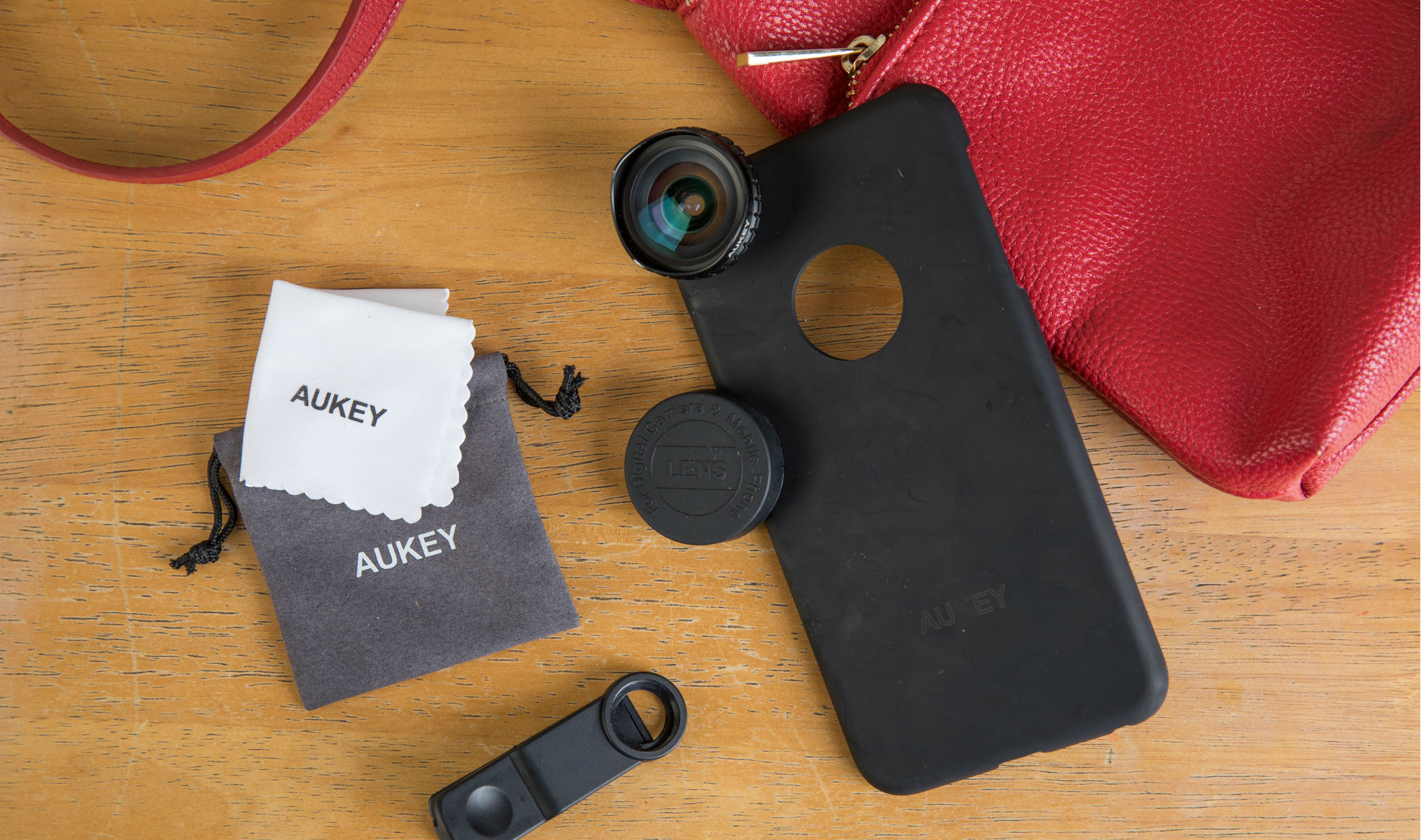 iphone-Aukey lens