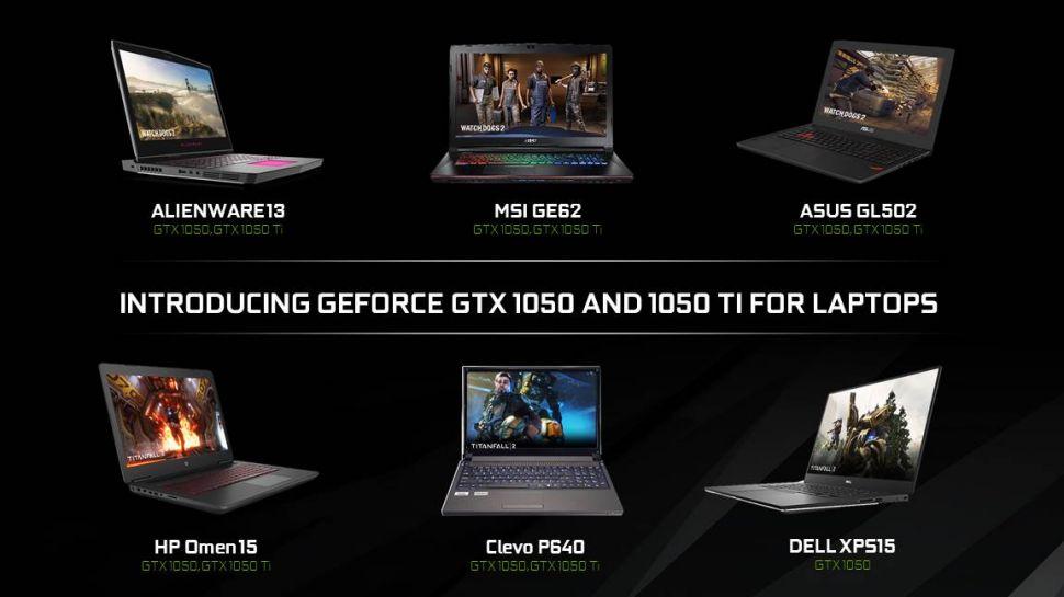 laptop-GeForce GTX 1050 -1050 Ti