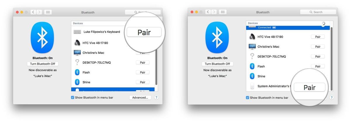 mac pair bluetooth keyboard mouse 3