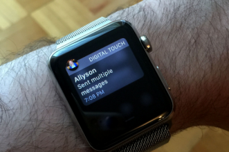 notifications on apple watch