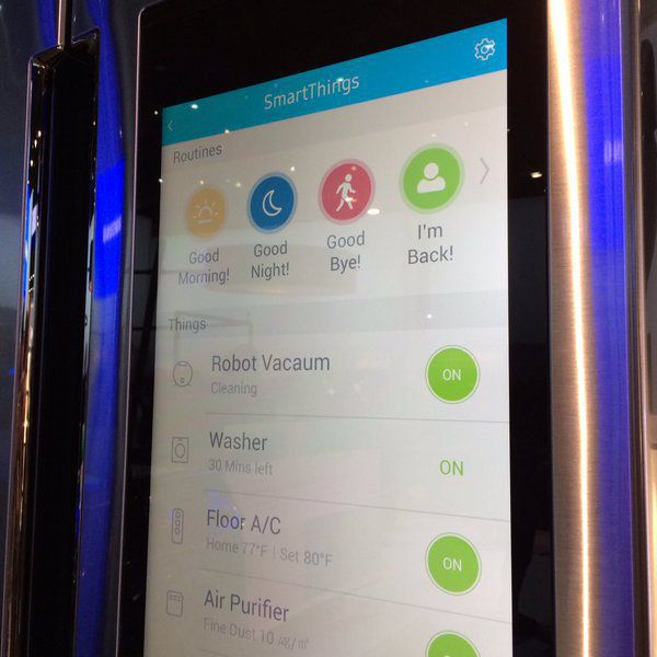 samsung-family-hub-fridge-smartthings-app - التقنية بلا حدود