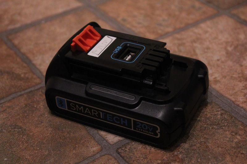 smart power tool battery