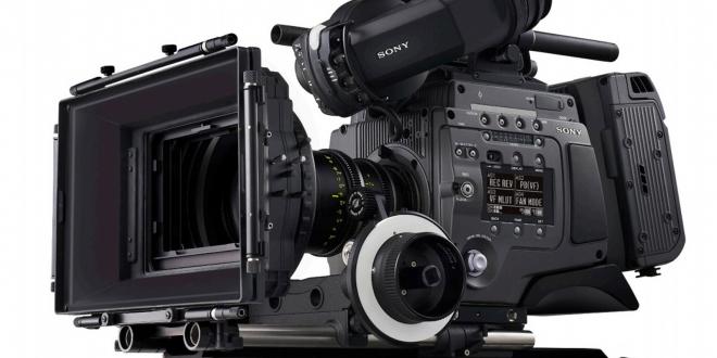 sony fulL frame cinealta camera