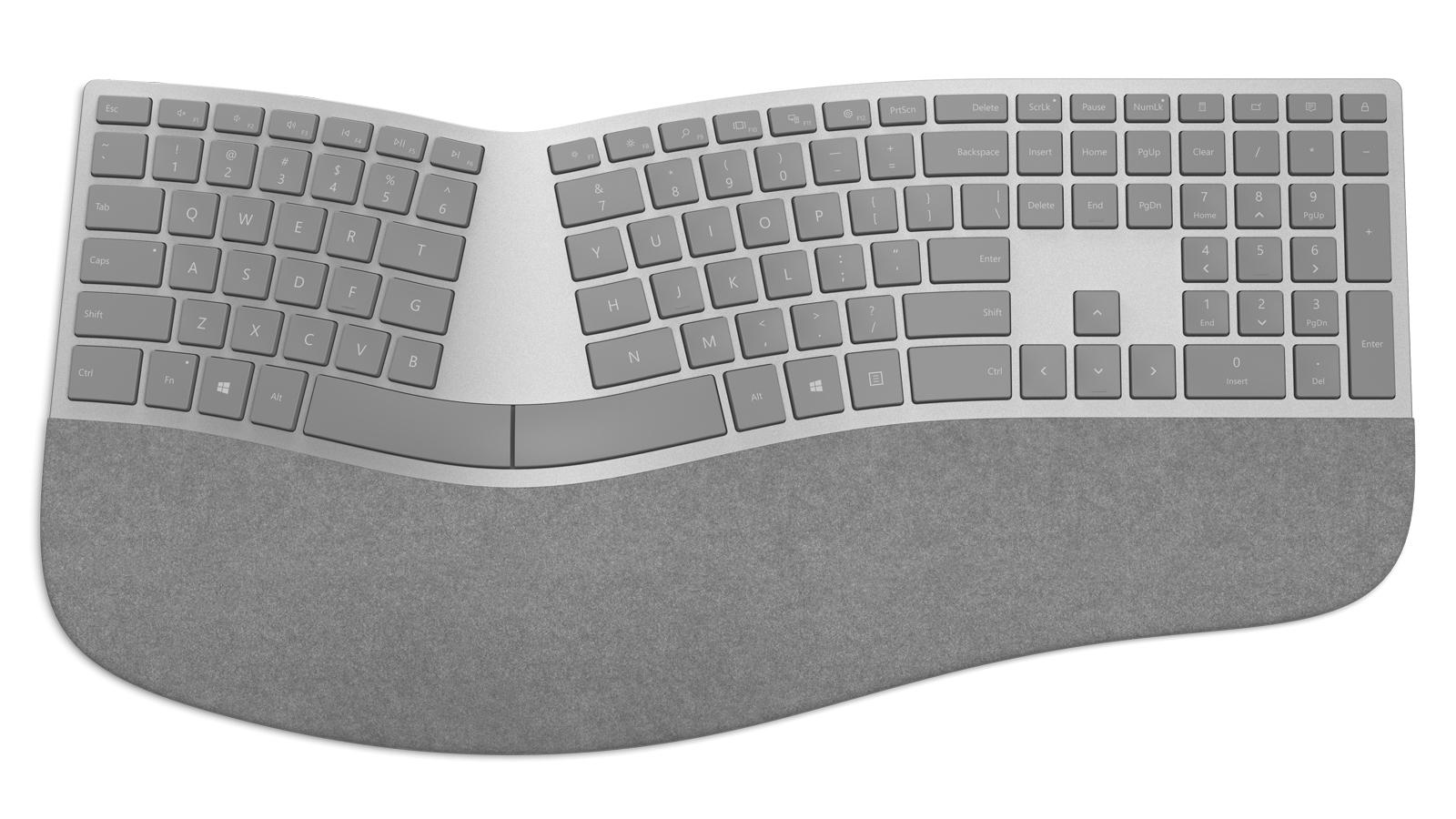 مايكروسوفت تكشف عن لوحة مفاتيح بتصميم مميز وسعر 130$