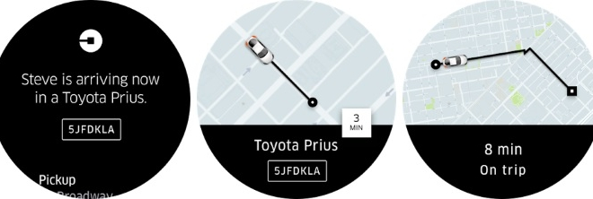 uber-Android Wear 2.0