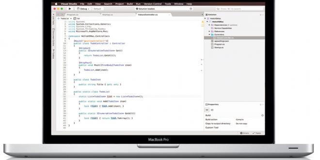 مايكروسوفت تجلب واجهة Visual Studio البرمجية لمنصة Mac