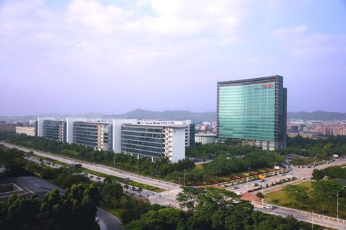 أحد مراكز الأبحاث والتطوير لشركة هواوي في الصين