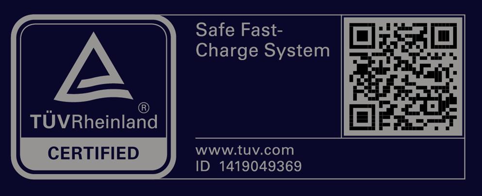 شهادة أمان الشحن من شركة تاف راينلاند