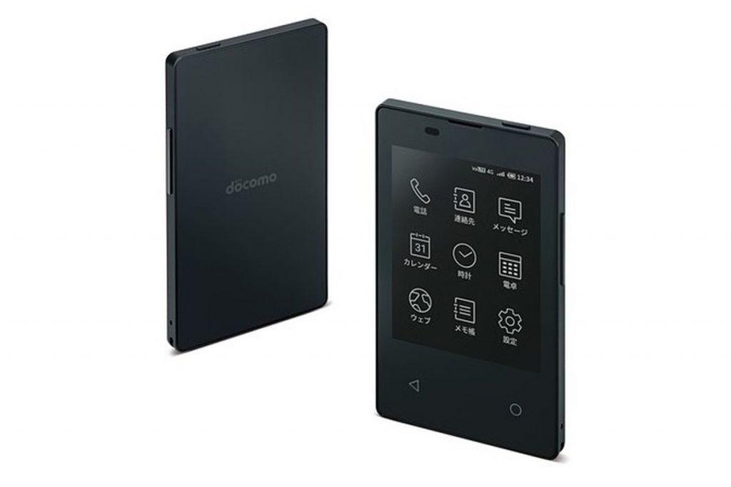 شركة NTT Docomo اليابانية تقدم هاتف بحجم بطاقة الائتمان